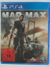 Mad Max-FSK 18 Action culto per PlayStation 4 Apocalypse lotta, auto, Wastelands