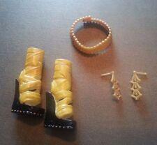 Monster High Wave 1 Cleo De Nile Accessories  Earrings Belt Shoes