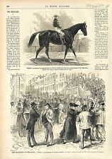 Grand Prix de Paris Longchamp Cheval Horse Trent / ELECTIONS BELGIQUE GAND 1874
