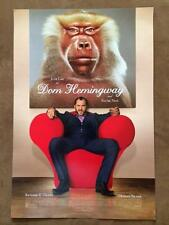 "DOM HEMINGWAY - 13.5""x20"" Original Promo Movie Poster 2014 MINT Jude Law Rare"