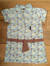 Designer SOPHIE & LILI girls summer tunic cotton dress 4y - RRP£28 - Ex Used Con
