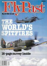 FlyPast Magazine 63, Spitfire KLM Dutch BMW Jets Engine Glider L-1649 Starliner