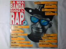 LP LA MIA BANDA SUONA IL RAP SUGARHILL GANG KURTIS BLOW VANILLA ICE SNAP RUN DMC
