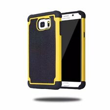 Slim Hybrid Rugged Rubber Hard Shockproof Cover Case For Samsung Galaxy Phones