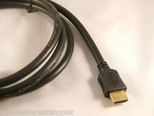 HDMI Cable Lead Gold 1.5m HD Plasma LCD Blu Ray Sky PS3 Latest V1.4 Version