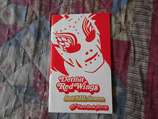 1975-76 DETROIT RED WINGS MEDIA GUIDE Yearbook FACTS BOOK Program Press 1976 AD