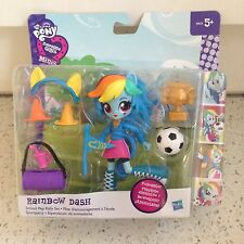 Rainbow Dash My Little Pony Equestria Girl  School Pep Rally Set Accessories
