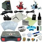 Complete Tattoo Kit 2 Machine Gun Set Power Supply Bloodline Ink Made in USA