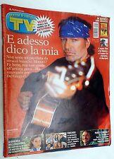 TV Sorrisi e Canzoni n.46 del 2002 con in copertina Vasco Rossi