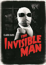 HG Wells THE INVISIBLE MAN rare Horror Classic dvd CLAUDE RAINS 1933