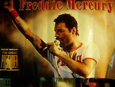 "Freddie Mercury ""THE GREAT PRETENDER"" large 36"" x 24"" poster-QUEEN-ships free!"