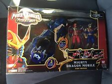 "Power Rangers MYSTIC FORCE Mighty Dragon Mobile Fury Edition w 5"" Solaris Knight"