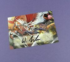 Battle of The Planets Autograph Card - A2 - Wilson Tortosa