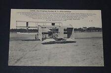 CPA 1900 AVIATION TRIPLAN GOUPY N°1 MOTEUR ANZANI AVIATEUR AEROPLANE PIONNIERS