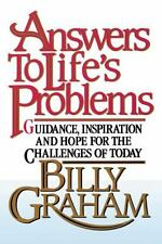 ANSWERS TO LIFE'S PROBLEMS-CHRISTIAN LIVING  BOOK FREE SHIPPING & TRACKING