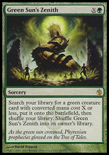 MTG GREEN SUN'S ZENITH FOIL EXC - ZENIT DEL SOLE VERDE - MBS - MAGIC