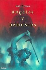 Angeles y Demonios  Angels and Demons (Spanish Edition)-ExLibrary