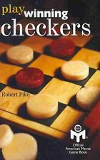 Play Winning Checkers Official Mensa Game Book (W/Registered Ic... 9781439243855