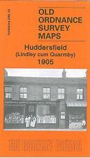 Carte de Huddersfield (Lindley cum quarmby) 1905