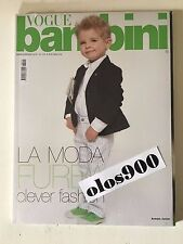 VOGUE BAMBINI Mar/April 2010 International Children's Fashion Italy NEW & SEALED