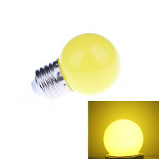 yellow 1W E27 mini LED Golf Ball Bulb Globe Light energy saving Lamp LTMUUS