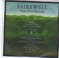 (EQ914)  Fairewell, Poor, Poor Grendel - 2011 DJ CD