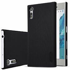 Genuine Nillkin Frosted Shield Black Hard Case Cover for Sony Xperia XZ