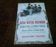"Lillian Gish  ""Life With Father"" Chicago Playbill 1940 Percy Waram"