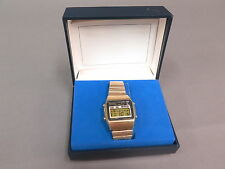 Vintage/Retro Seiko Quartz Digital Chrono Men's Watch A128-5000 w/ Original Box