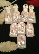 8 Bottle Vintage Gift Tags - Alice In Wonderland Birthday Party/ Wedding