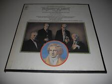 BUDAPEST QUARTET NM Beethoven Middle Op. 59, 74, 95 Roisman Kroyt 3 LP set