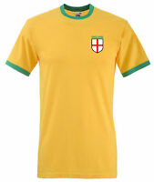 England Brazil spoof style Football World Cup 2014 T shirt
