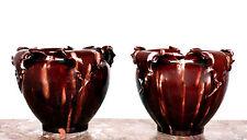 Paire de cache pots de Massier céramique de Vallauris