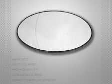 2001-2006 BMW MINI COOPER S R50 R52 R53 MIRROR GLASS LEFT SIDE HEATED + PLATE