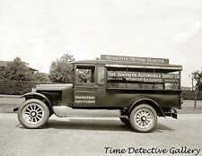 Southern Automobile Supply Co. Truck, Wash. DC - 1925 - Historic Photo Print