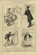 1879 Stage Realism New Babylon Ticket Of Leave Man