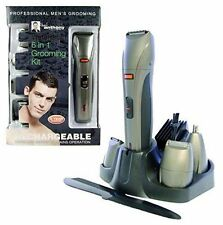 PAUL ANTHONY PROFESSIONAL 6 IN 1 GROOMING KIT RECHARGEABLE WATERPROOF NEW