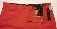"Marc By Marc Jacobs Red Harvey Twill men's Shorts 36"" RRP- $198"