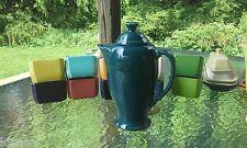 FIESTA WARE COFFEE SERVER POT w/lid juniper
