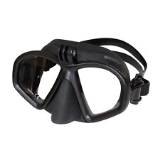 Beuchat GP1 GoPro Scuba Diving Mask - Black - Snorkel/Action Camera