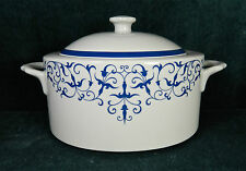 """BEAUTIFUL ROYAL PORCELAIN #269 """"SPANISH LACE"""" PATTERN COVERED VEGETABLE BOWL"""