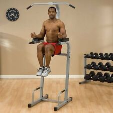 Powerline Vertical Knee Raise And Dip Station Pvkc83X