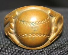 Rare Original 1934 Babe Ruth Boys Club Quaker Oats Baseball Premium Ring