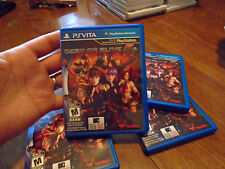 Dead or Alive 5 Plus PS VITA Sony PlayStation Vita PSVITA COMPLETE