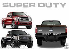 Chrome Mirror Super Duty Tailgate Letters For 2008-2016 F-250/F-350/F-450 New