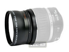 WIDE ANGLE 58mm LENS 0.43x + MACRO FOR CANON 18-55mm 760D 750D 700D T5i T6i