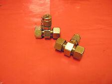 2St. Messanschluss Messkupplung für Manometer Messleitung  für 15L-Rohre