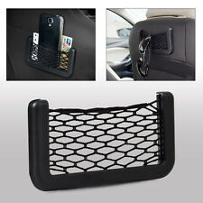 Hotsale Car Storage Pouch Net String Bag Phone Holder Ticket Pocket Organizer