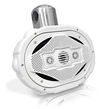 1 Lanzar AQWB69W White 300Watts 6''x 9'' 4-Way Marine Wake Board Speaker