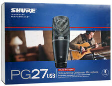 Shure PG27-USB Condenser Cable Professional Microphone